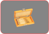 Screw  Drivers with Wooden Box