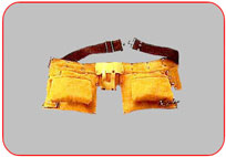 11  Pocket  Leather  Tool  Apron